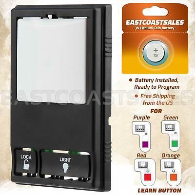 multi function control panel garage door opener
