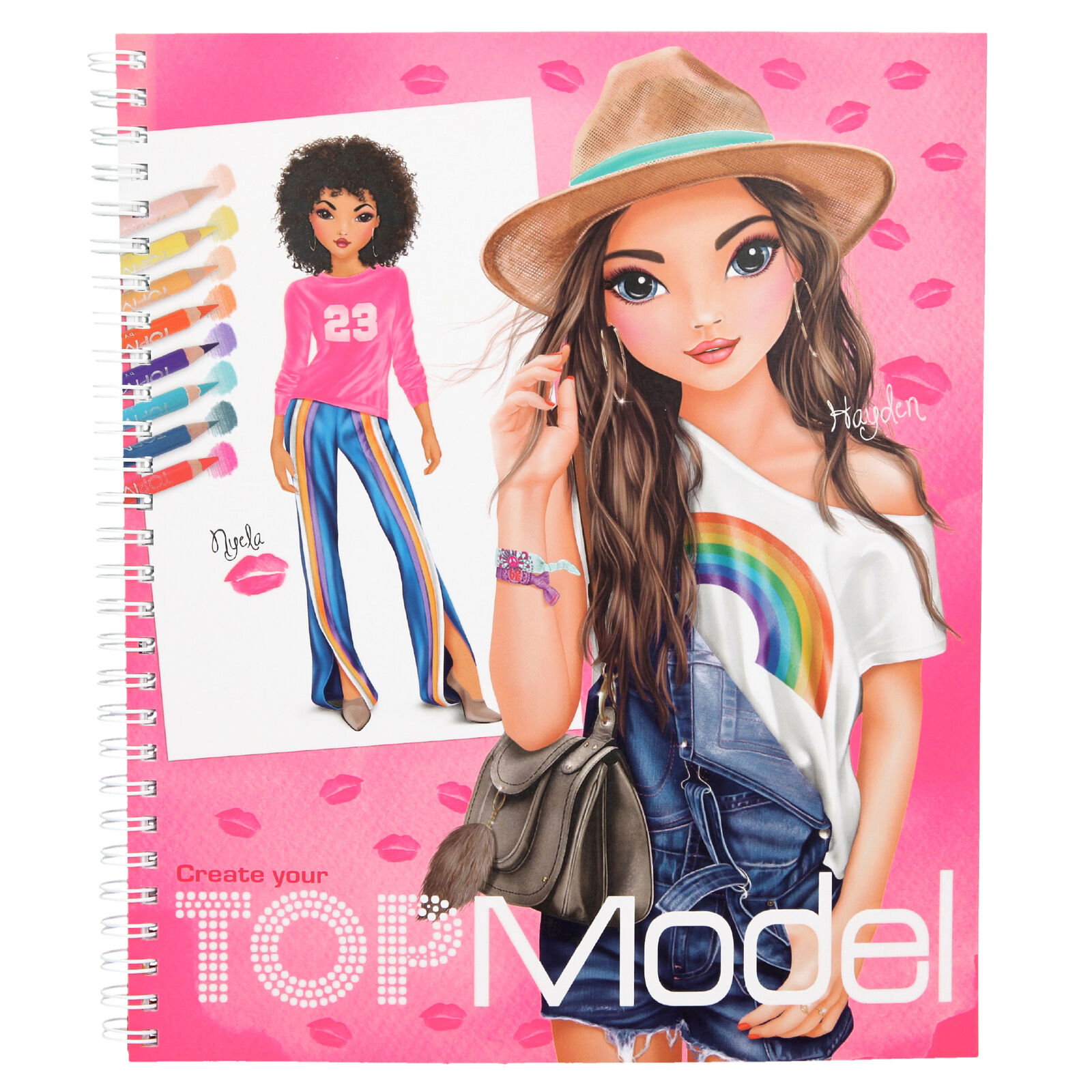 Create your TOPModel Malbuch Designbuch Top Model Depesche 10203