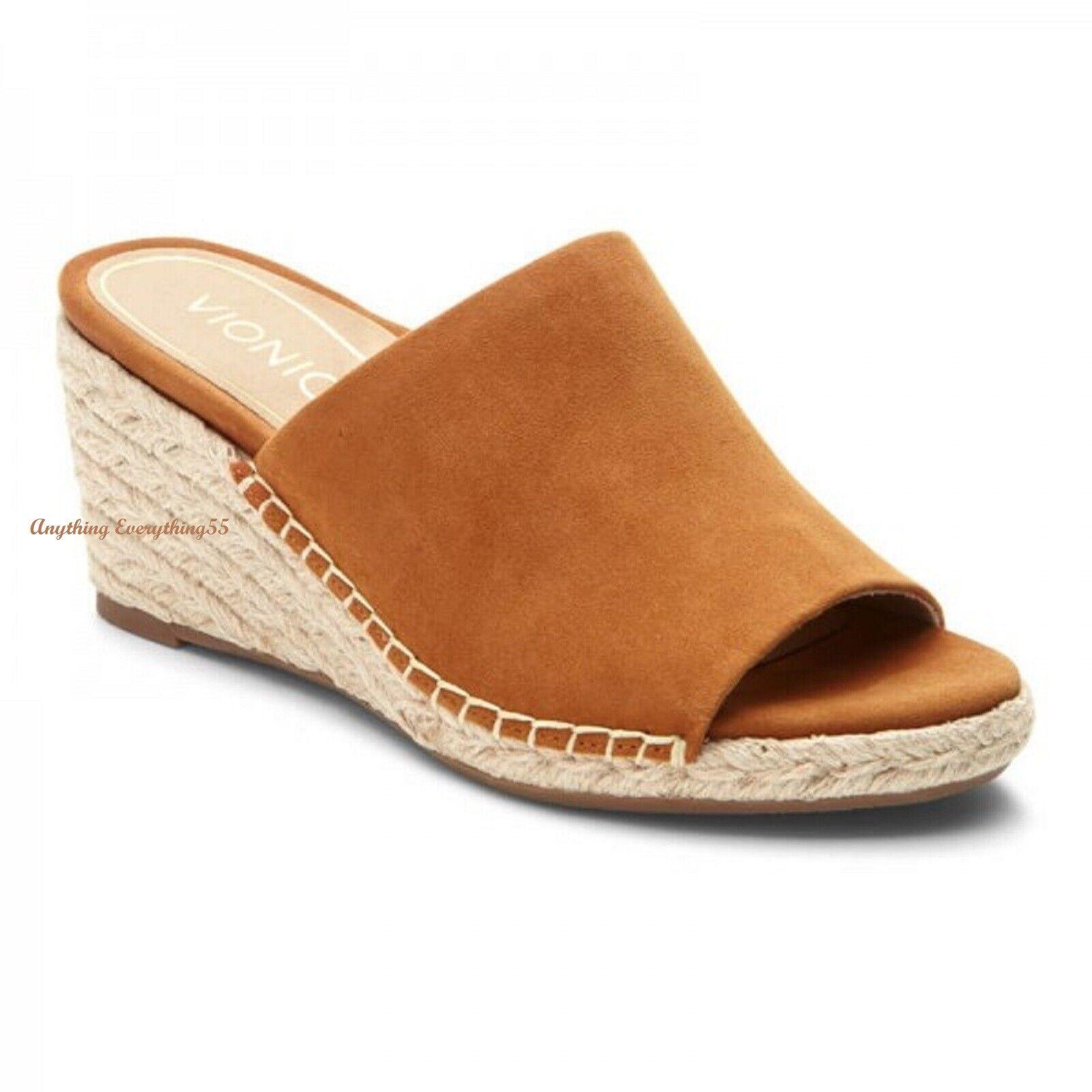 VIONIC Ladies TULUM KADYN  Espadrille Wedge Slide Sandals CA