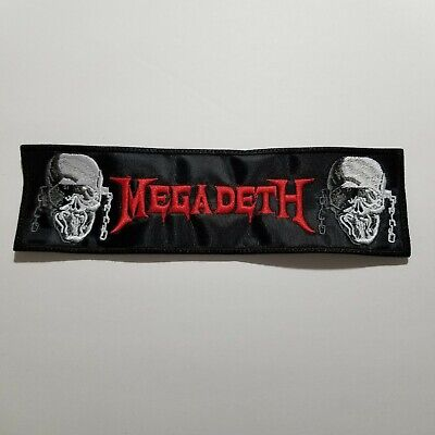 MEGADETH EMBROIDERED PATCH - $6.66