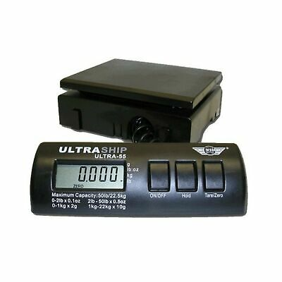 Ultraship 55 Lb. Digital Postal Shipping Kitchen Scale