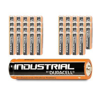 40 x DURACELL AAA Micro Alkaline LR03 Batterie MN2400 1,5V Industrial 40 Stück