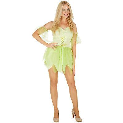Frauenkostüm Zauberfee Morgentau Kostüm Frauen Karneval Fasching Halloween Elfe