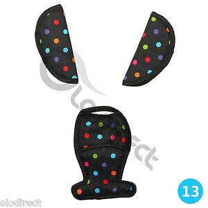 strap crotch cover fit maxi cosi cabriofix cabrio car seat belts pad shoulder ebay. Black Bedroom Furniture Sets. Home Design Ideas