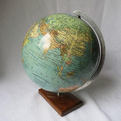 schöner alter seltener kleiner Globus Reporter Erdglobus Globe Erdkugel 17cm