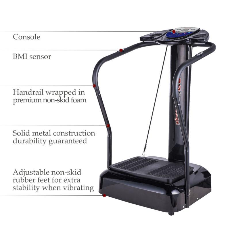 2000W Full Body Vibration Platform Massage Whole Body Exercise Machine