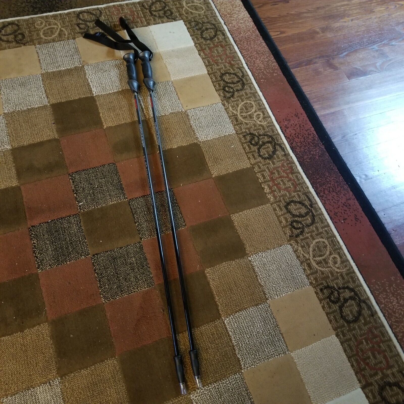 как выглядит Winget XA-80 80 carbon ski poles Various sizes from 110cm to 135cm Brand new фото