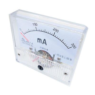 Us Stock Analog Panel Amp Current Ammeter Meter Gauge 85c1 0-300ma Dc