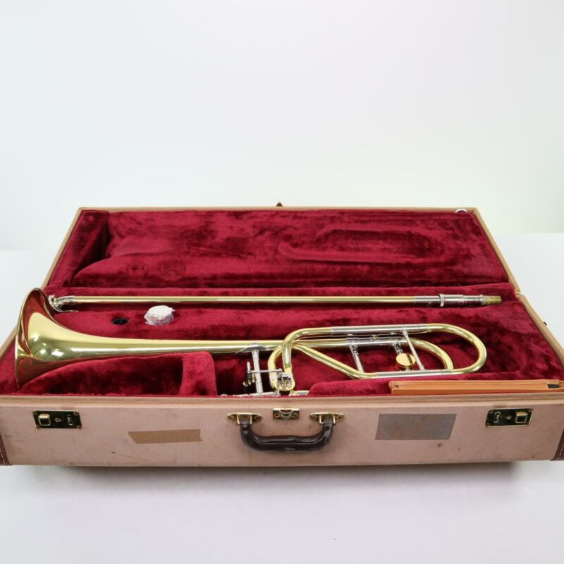 Jupiter XO Model 1236LO Professional .547 Bore Trombone SN WB05194 OPEN BOX