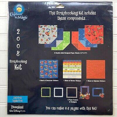 Disney World Scrapbooking (Walt Disney World Capture the Magic 12 x 12 Scrapbooking Kit 2008)