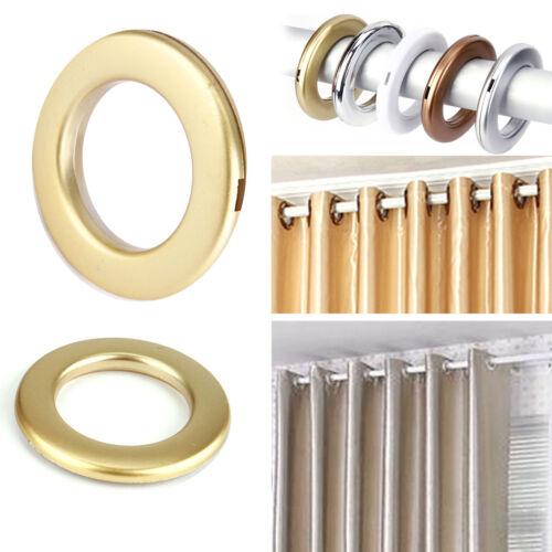20 Pezzi Anello Anelli Tondo Interno Ø35mm Occhielli Per Tende Tendaggi Plastica