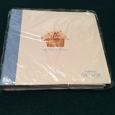 Journal Note Book With Lined Pages Longaberger New Great Gift