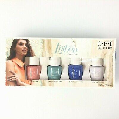 OPI GelColor Lisbon Collection 4pc Set ( 4 ) 7.5 mL / 0.25