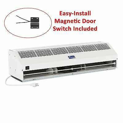 """Awoco 36"""" Super Power 2 Speed 1400 CFM Indoor Air Curtain w/ Magnetic Switch"""