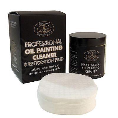 Oil Painting Cleaner & Restorer Kit - Removes Dirt & Revives Varnish