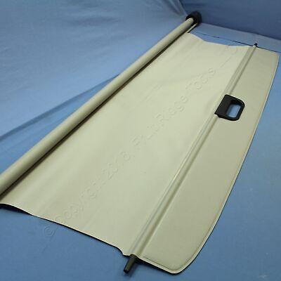New GM OEM Titanium Gray Vinyl Cargo Sun Shade Cover 15213370 w/ Power Liftgate