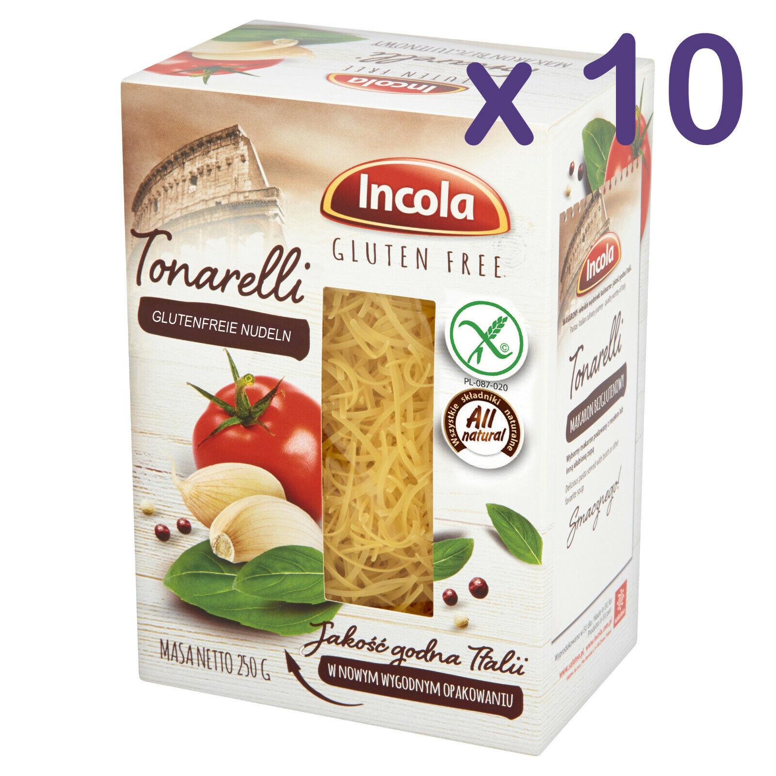 (10,36€/kg) GLUTENFREI Nudeln TONARELLI 2,5kg glutenfreie Pasta Weizenmehlfrei