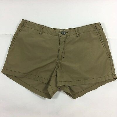 Abercrombie & Fitch Shorts Women Size 0 Khaki Flap Pockets T9995 for sale  Shipping to India