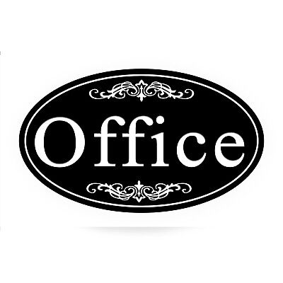 Office Sign Plaque Aluminum Won't Fade, Peel or Chip (Signs Peel)