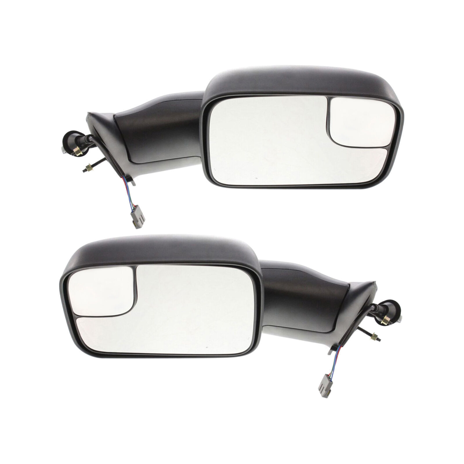2500 3500 1994-1997 New Set of 2 LH /& RH Door Mirror Set for Dodge Ram 1500