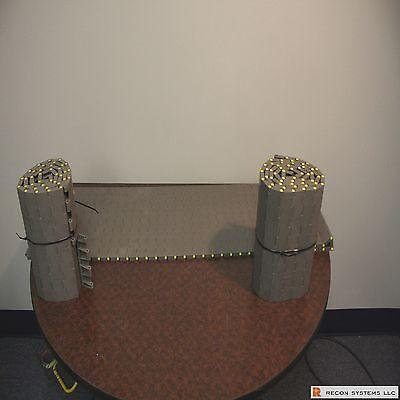 Rexnord Mat Top Conveyor Chain 12 Inch Width 5 Ft Length