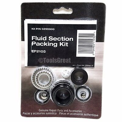 Titan Spraytech Ep2105 Fluid Pump Packing Kit 0295900 Wagner 935 945