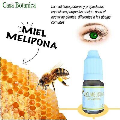 2pcs GOTAS DE MIEL MELIPONA VIRGEN PARA OJOS inflamados VIRGIN HONEY EYE DROPS