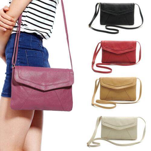 Mädchen Damen Elegant Clutch Umschlag Handtasche Schultertasche Messenger Klein