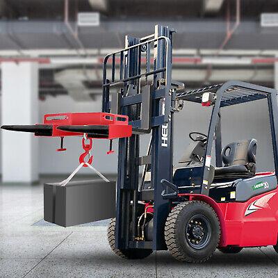 3t Forklift Lifting Hook 6600lbs Heavy Duty Telescopic Handler Loader