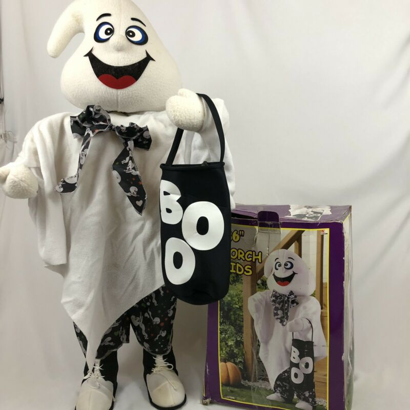 "36"" Porch Kids Halloween Standing Ghost K-mart Trick-or-Treater Greeter"