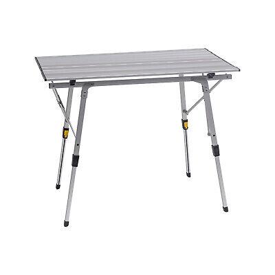 Campingtisch klappbar faltbar Gartentisch höhenverstellbar Reisetisch CPT8129sb