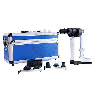 Portable Hand Held Slit Lamp 3200 With Case Ce Approval Brand New Battery
