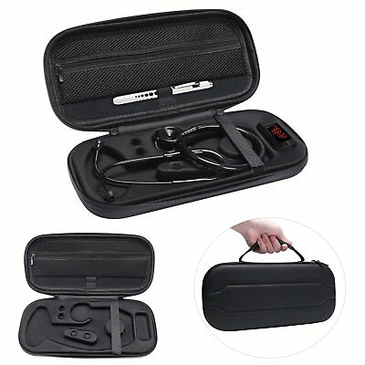 Stethoscope Storage Carry Case Bag For 3m Littmann Classic Lightweight Iii Ii Se