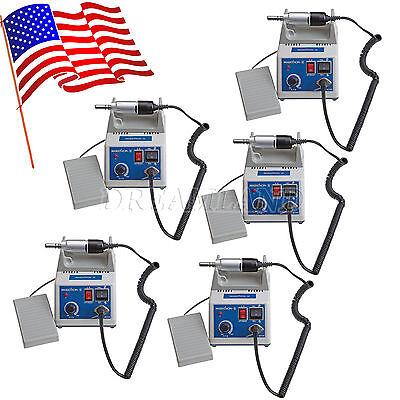 5x Dental Lab Marathon Electric Micromotor Polishing Machine 35k Rpm Motor Ussa