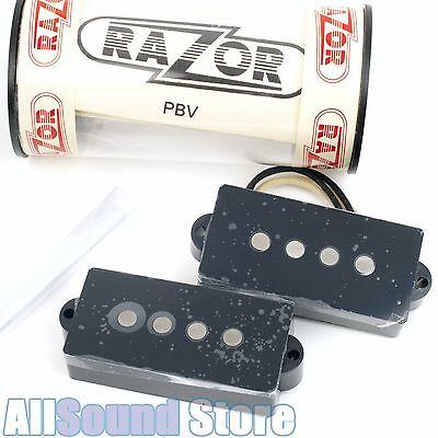 RAZOR PBV Power Alnico Bass Pickup for Fender Precision P Bass 10.5K - BLACK