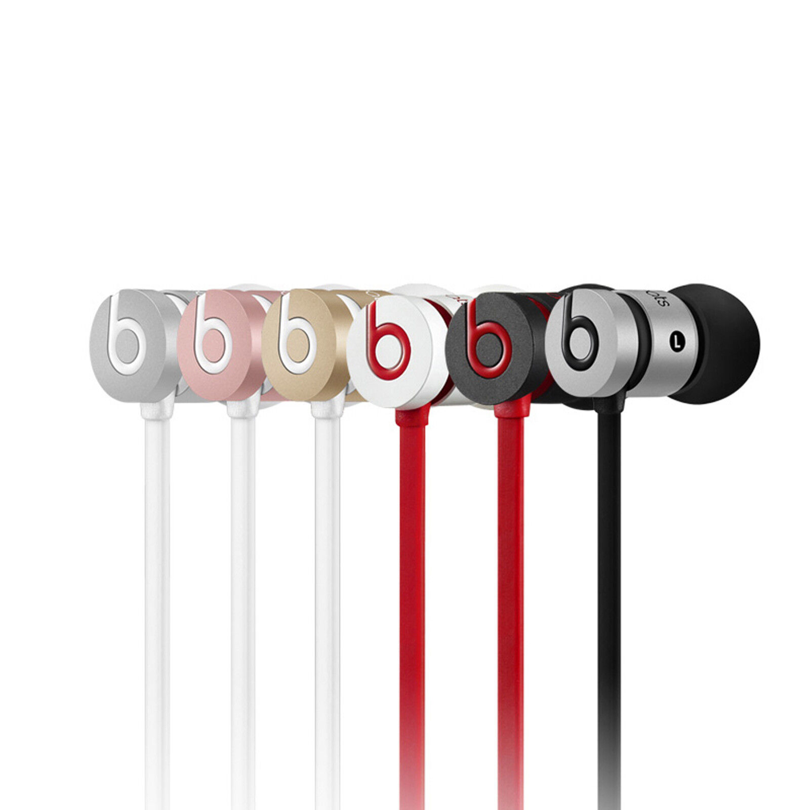 Headphones - Beats by Dr. Dre UrBeats 2.0 In-Ear Only Headphones with Pouch & Extra Ear Buds