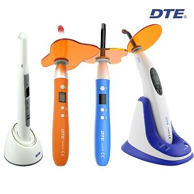 Woodpecker Dte Dental Led Curing Light Wireless Lux I Lux Vi Lux E Plus