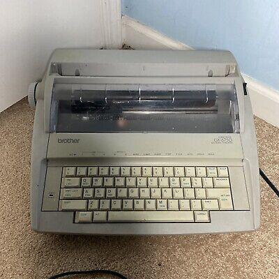 Brother Gx6750 Electronic Typewriter Read
