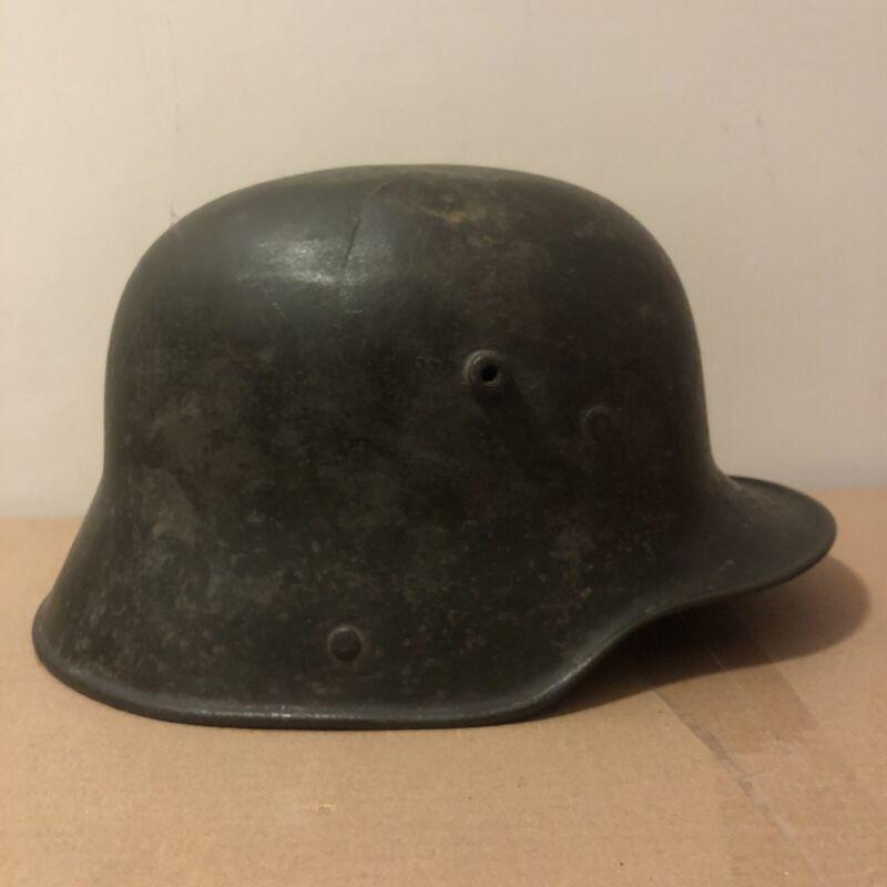 MEGA RARE!! HUGE MONSTER SIZE! German WW1 M16 Original Helmet, Stahlhelm WK 1