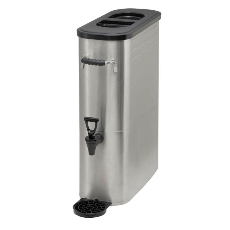 TW - SSBD-3, 3GAL SLIM ICED TEA DISPENSER, S/S