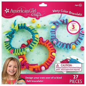 American girl wavy color bracelet kit ek success kids for American girl craft kit
