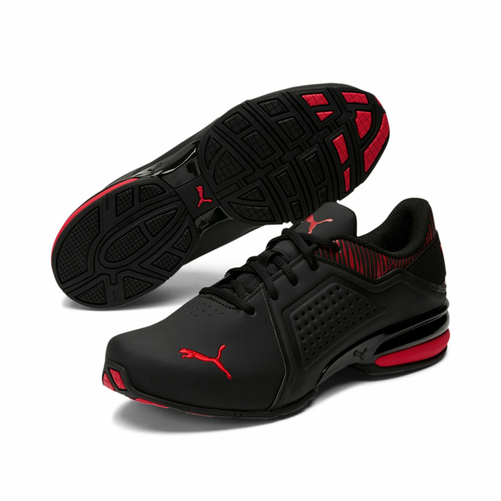 PUMA Men's Viz Runner Graphic Sneakers Size 10.5 Mens