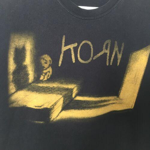 2002 Korn Untouchables T Shirt Sz L Concert Tour 90s Metal Hip Hop