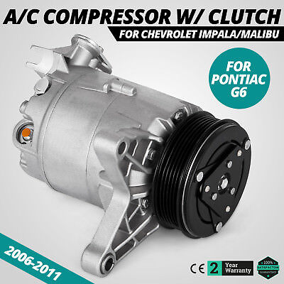 Get A/C Compressor for CO 21471LC 06-11 Chevrolet Impala Malibu 3.5L 3.9L Motor Chevrolet Malibu A/c Compressor