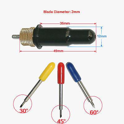 New 1pc Blade Holder9 Pcs Cutting Blade 304560vinyl Cuttercutter Plotter