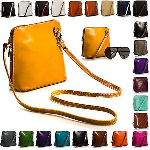 New-Vera-Pelle-Mini-Little-Genuine-Italian-Leather-Shoulder-Cross-Body-Handbag