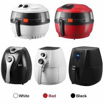 4.4 7.4qt Electric No Oil Air Fryer Calorie Reducer Temperature Timer Control