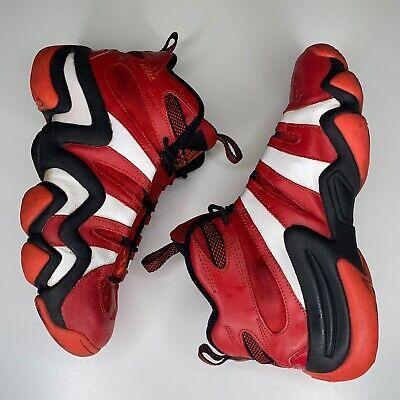 Adidas Crazy 8 Mens Red Black White Retro Kobe Basketball Shoes Size 9.5 G20784