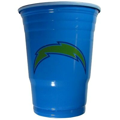 LOS ANGELES CHARGERS PLASTIC GAMEDAY CUPS 18OZ 18CT SOLO TAILGATE PARTY SUPPLIES](Party Supplies Los Angeles)