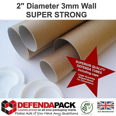 10 SUPER STRONG A3 Size POSTAL TUBE Posters 3mm WALL 13